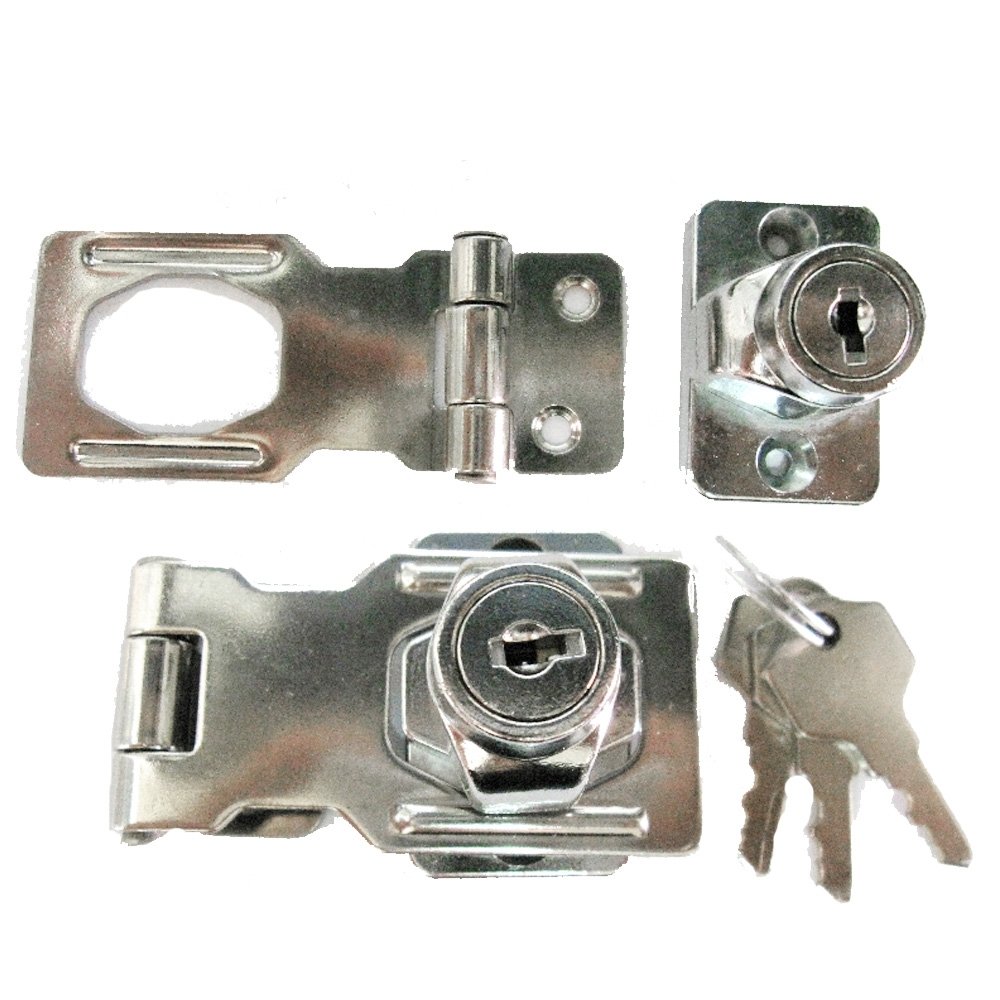 LP001 不銹鋼反扣鎖 65mm 不鏽鋼板扣鎖 櫥櫃鎖 迫緊式門扣鎖 固展凸窗鎖專用