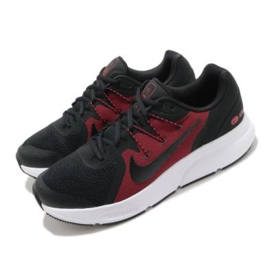 Nike 慢跑鞋 Zoom Span 3 運動 男鞋 氣墊 舒適 避震 路跑 健身 球鞋 黑 紅 CQ9269005
