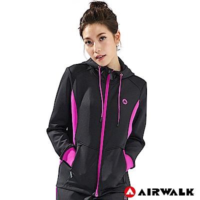 【AIRWALK】女款POLY針織外套-共兩色