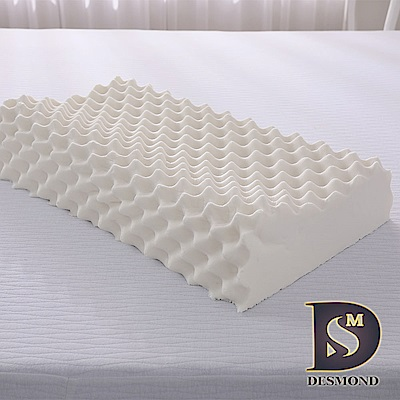 DESMOND岱思夢 100%天然乳膠枕_2入(顆粒按摩型)