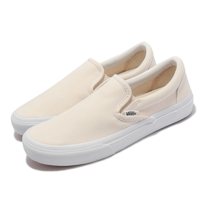 Vans 休閒鞋 V98CF Bloom Slip On 男女鞋 懶人鞋 無鞋帶 好穿脫 情侶鞋 淺褐 白 6117920001