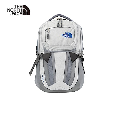 The North Face北面男女款灰色舒適防護雙肩背包|3KV19QN