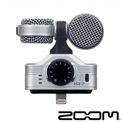 ZOOM iQ7 立體聲數位錄音麥克風 For IOS 公司貨