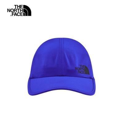 The North Face北面男女款藍色透氣運動帽|CGY1EF1