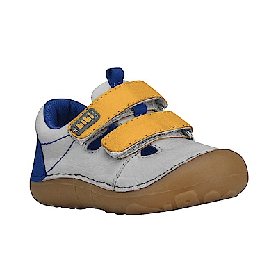 巴西BiBi童鞋_休閒款-灰黃984006