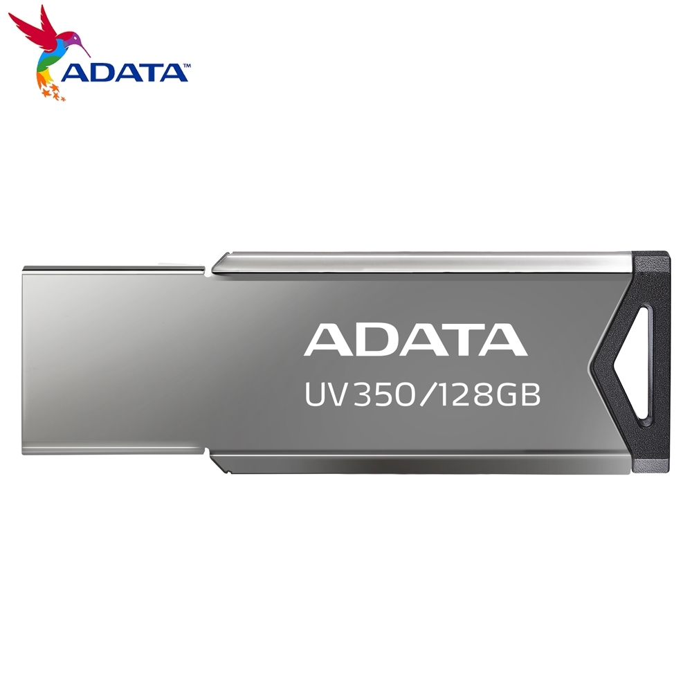 威剛 UV350 128GB 金屬隨身碟