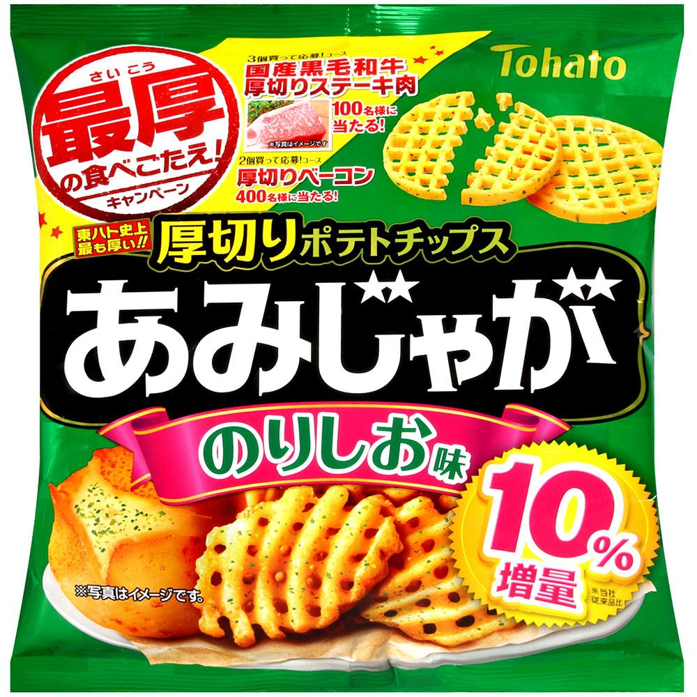 東鳩 厚切網狀洋芋片-海苔鹽味(66g)