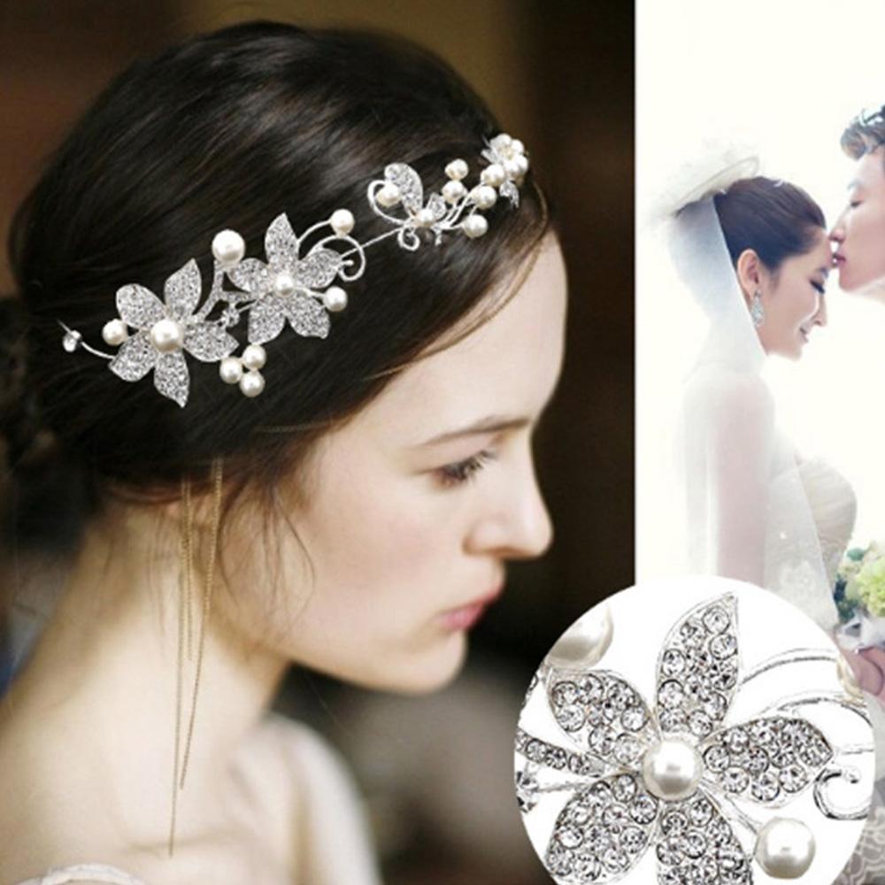 Hera 赫拉 水鑽婚紗新娘額飾