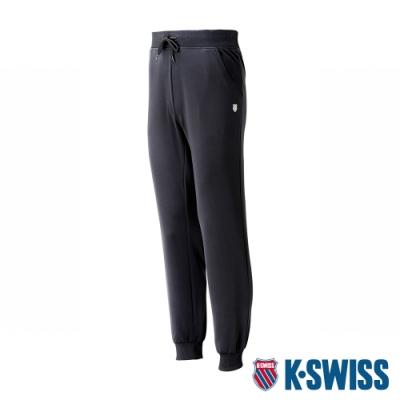 K-SWISS Knit Pants運動長褲-男-黑