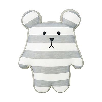 CRAFTHOLIC 宇宙人 監獄灰白條紋熊寶貝枕