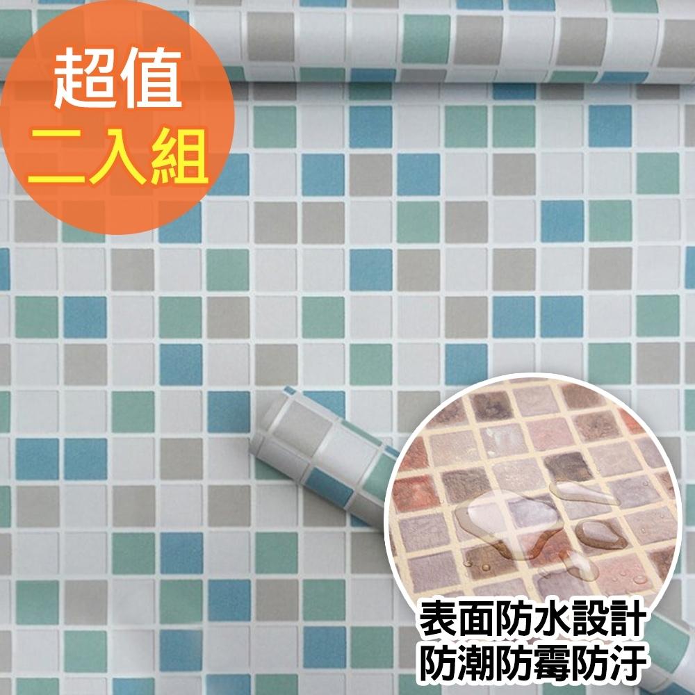 (買一送一) 佶之屋 3米廚房衛浴大無敵防水防油磁磚壁貼