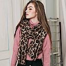 豹紋抽鬚圍巾 TATA