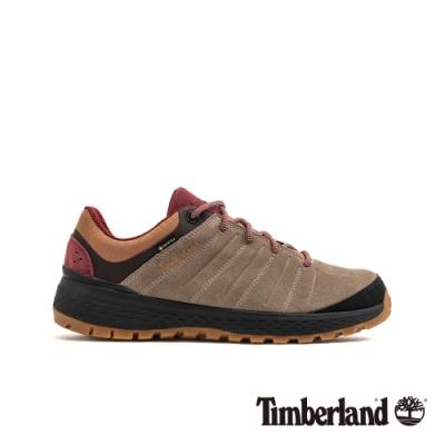 Timberland 男款中灰色絨面革登山靴|A1Z38
