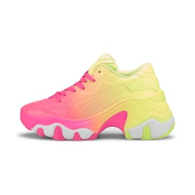 PUMA-Pulsar Wedge Wn s 女性復古休閒鞋-夜光粉