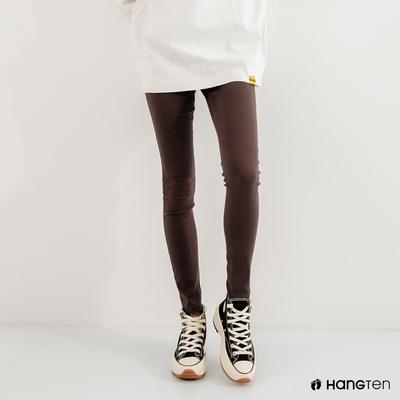 Hang Ten-女裝-SKINNY FIT緊身五袋款長褲-灰黑色