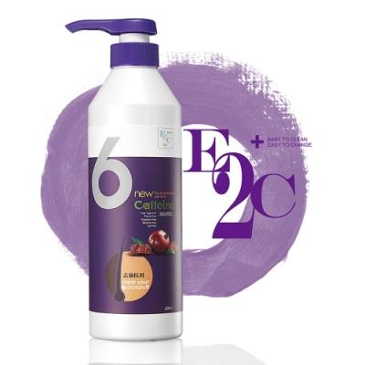 E2C美肌殿堂 紅石榴6號去油抗屑洗髮精600ml (咖啡因 啡洗不可系列)-快