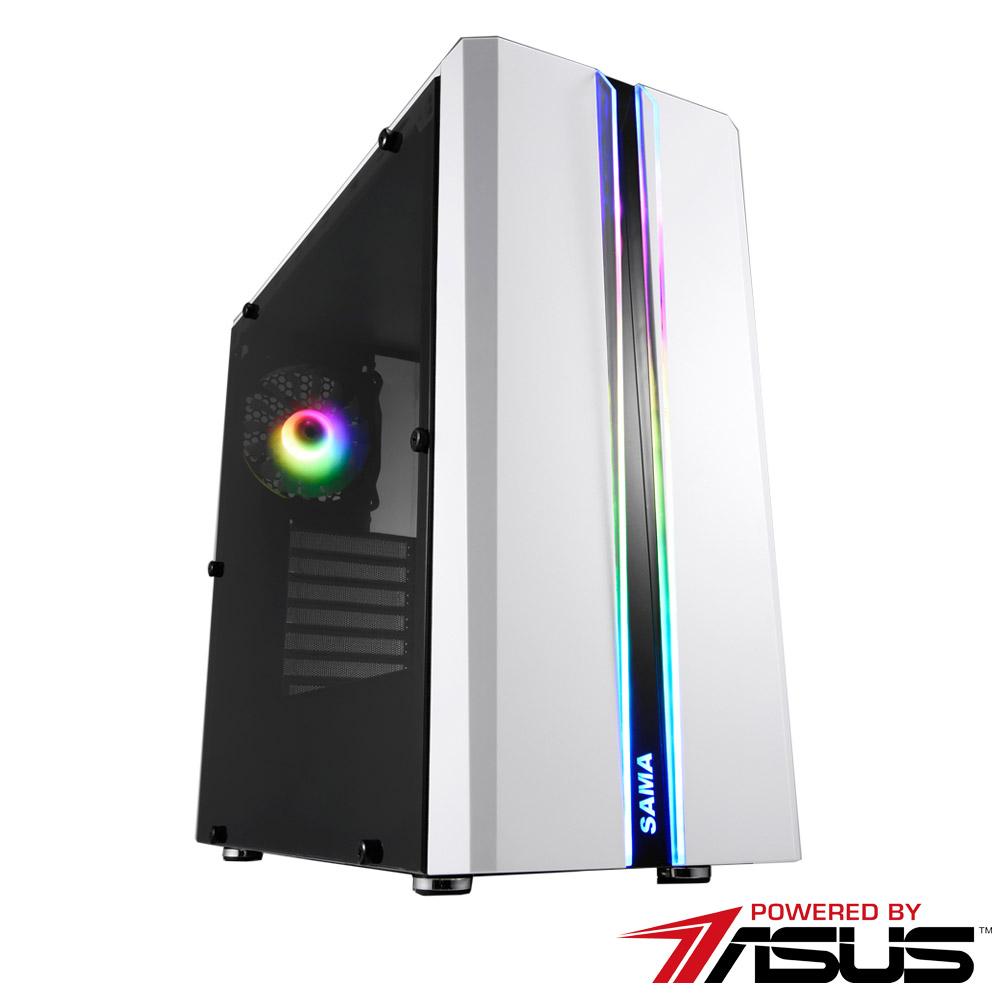 華碩B365平台 [妖火教士]i5六核RTX2080獨顯SSD電玩機