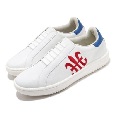 Royal Elastics 休閒鞋 Astre 套腳 穿搭 男鞋 基本款 皮革 質感 白 紅 06902015