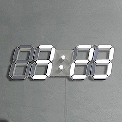 [時時樂限定]3D LED立體數字鐘/掛鐘(大款)