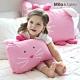 Milo&Gabby動物好朋友-可水洗防蹣mini幼童枕心+枕套組-1歲以上(LOLA芭蕾舞兔兔) product thumbnail 1
