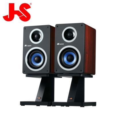 JS淇譽電子 HI-FI高傳真藍牙實木防磁喇叭 JY2038(附專業喇叭座)