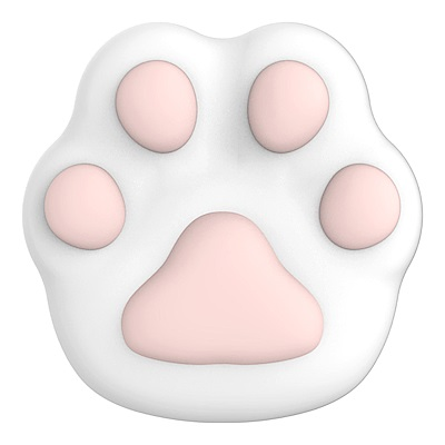 iobanana 貓掌健康按摩器-香草白