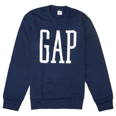 GAP 男生 長袖T恤 藍 1444