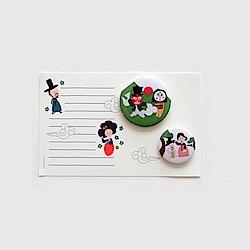 Hello首爾徽章及卡片-04 朝鮮技藝