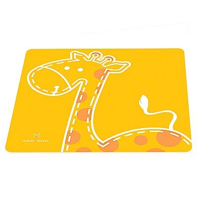 【MARCUS&MARCUS】動物樂園矽膠餐墊-長頸鹿