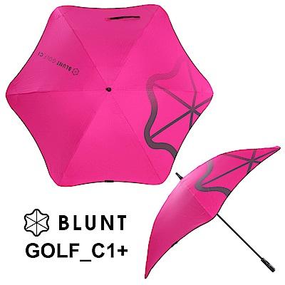 BLUNT GOLF C1+高爾夫球傘碳纖骨架 完全抗UV 豔桃紅