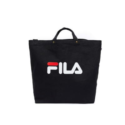 FILA 兩用大帆布包-黑色 BMU-9010-BK