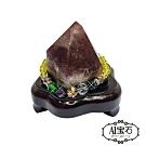 A1寶石 頂級烏拉圭極光23天然水晶鎮/陣《185g》同巴西紫晶洞功效(贈開運三寶)