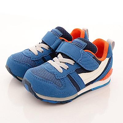 日本月星頂級童鞋 HI系列2E機能款 TW121S5藍(中小童段)