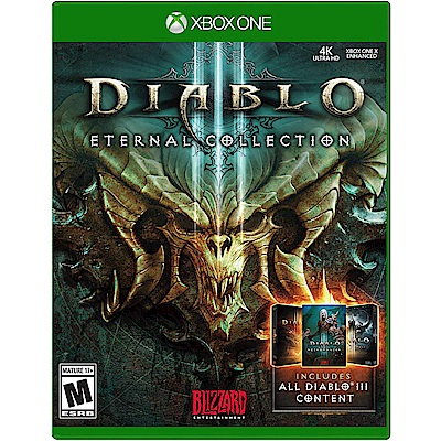 暗黑破壞神 3:永恆之戰版 DIABLO III - XBOX ONE 英文美版