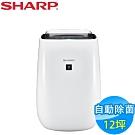 SHARP夏普 12坪 自動除菌離子空氣清淨機 FU-J50T-W