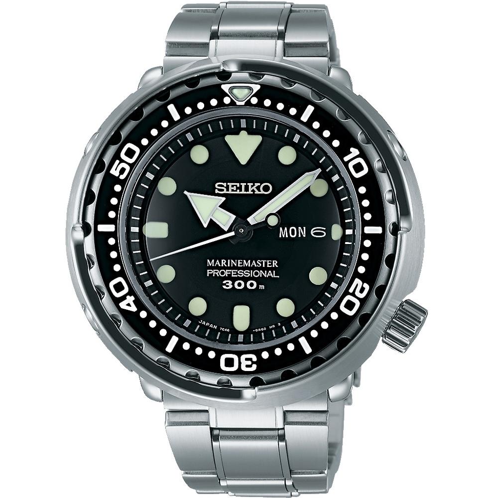 SEIKO 深海鮪魚300米專業潛水錶(SBBN031J)鋼7C46-0AG0C/48mm