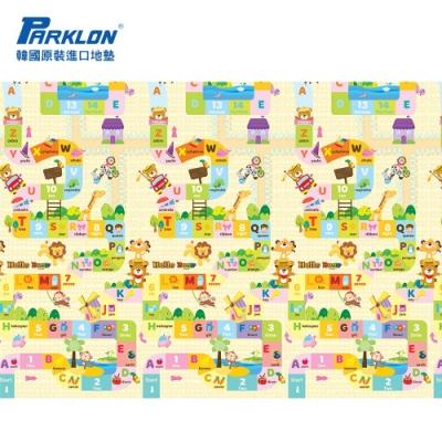 Parklon 韓國帕龍無毒地墊 - 單面切邊 (小熊接龍)