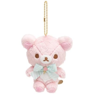 懶妹蜂蜜小熊快樂冰淇淋系列毛絨公仔吊飾。懶妹San-X