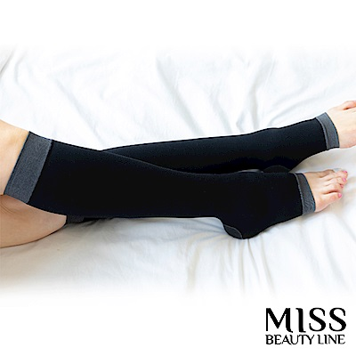 MISS BEAUTY LINE 韓國原廠遠紅外線/陶瓷纖維美雕襪-日間美雕短襪型