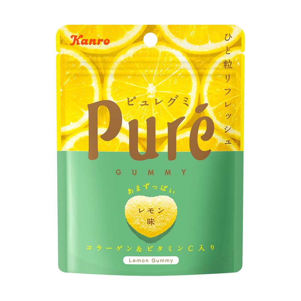 甘樂Kanro Pure鮮果實軟糖-檸檬(45.5g)