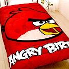 ANGRY BIRDS 憤怒鳥 搖粒絨雙人暖暖厚毯被