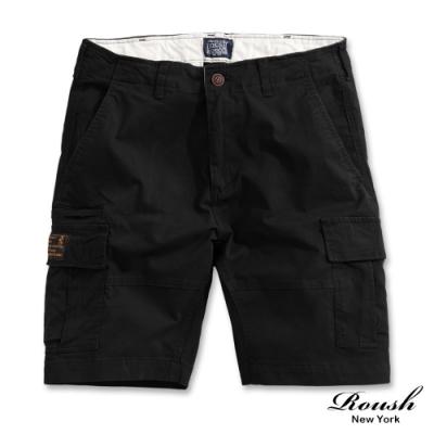 Roush 高磅數雙口袋水洗工裝短褲(5色)