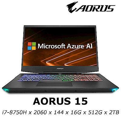 AORUS 15 電競筆電 i7-8750H/RTX2060 6G