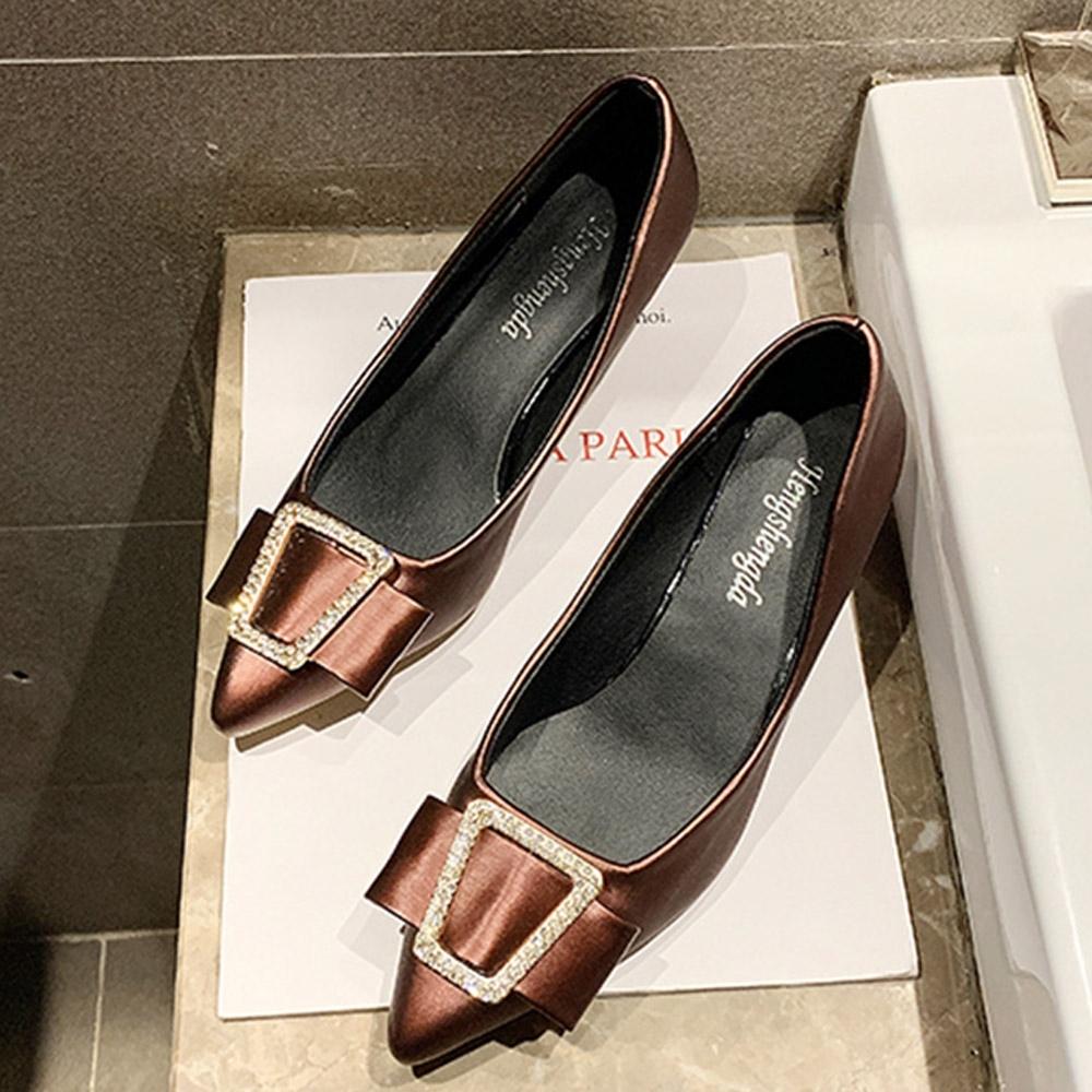 KEITH-WILL時尚鞋館 韓國設計高貴奢華細跟鞋-酒紅