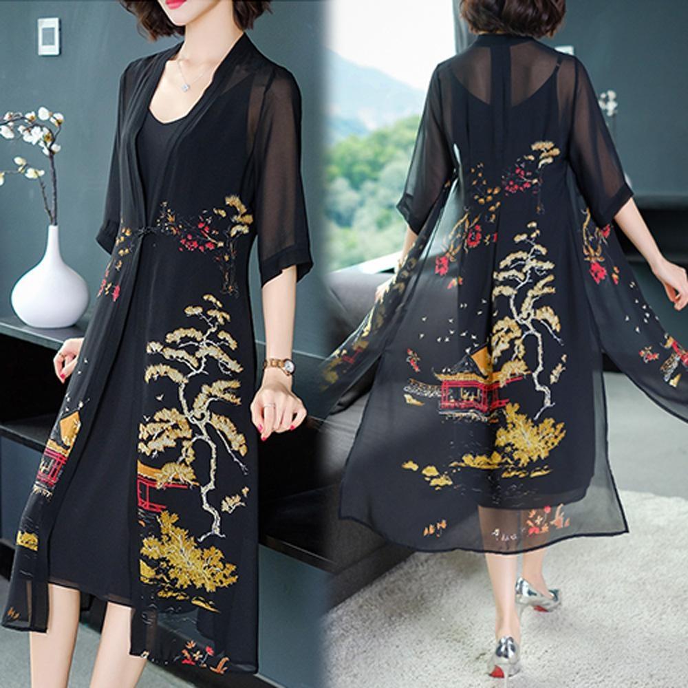 【韓國K.W.】話題單品舒活步調罩衫-3色
