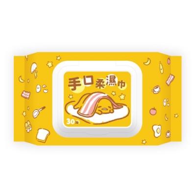 Sanrio 三麗鷗 蛋黃哥 手口加蓋濕紙巾 30抽 X 36 包/箱