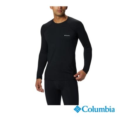 Columbia 哥倫比亞 男款- Omni HEAT 鋁點保暖快排內著上衣-黑色 UAM63230BK