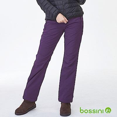 bossini女裝-高效熱能雪褲深紫