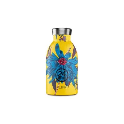 義大利 24Bottles 不鏽鋼雙層保溫瓶 330ml - 點翠菊