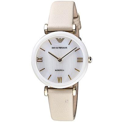 ARMANI 亞曼尼  Gianni T-Bar系列典雅腕錶(AR11041)32mm